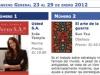 Semana del 23 al 29 de enero 2012