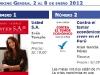 Semana del 2 al 8 de enero 2012