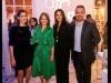 Orlt Pollak, Mariana Garland, Inés Temple y Paul Romero, en evento de la AEF