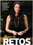 Inés Temple en la portada de Diario El Comercio - Suplemento Luces