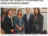LHH DBM Perú celebró su 25 aniversario con líderes de recursos humanos