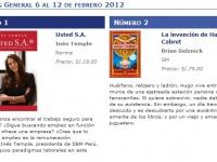 Semana del 6 al 12 de febrero 2012