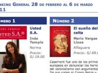 Semana del 28 de febrero al 6 de marzo 2011