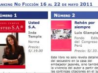 Semana del 16 al 22 de mayo 2011