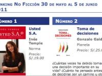 Semana del 30 de mayo al 5 de junio 2011