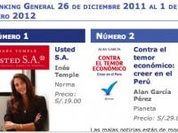 Semana del 26 de diciembre 2011 al 1 de enero 2012