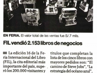 El Comercio / Agosto 2011