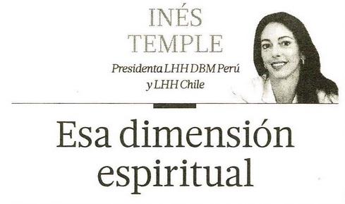 esa dimension espiritual- ines