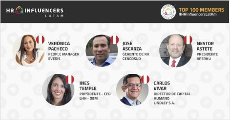 INES TEMPLE AMONG THE TOP 5 PERUVIAN LATIN AMERICAN HUMAN RESOURCE INFLUENCERS