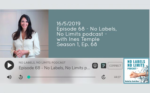 05 May - 16.05.19 No Labels, No Limits podcast cover